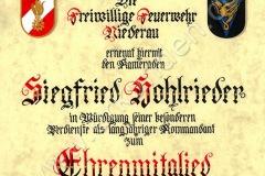 Niederau_Wildschönau_Ehrenmitglied_Hohlrieder